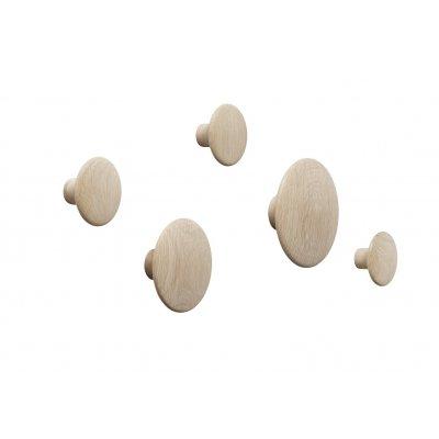 Dots muuto -  oak (set van 5)