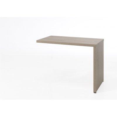 Aanbouwtafel voor bureau - eik