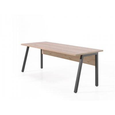 Bureau 200 x 80 cm (grijs+den)