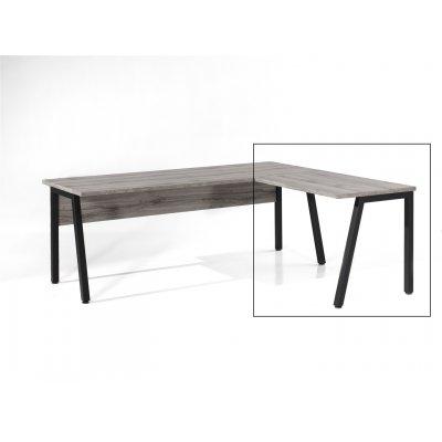 Aanbouwtafel 100x66cm (sherman grijs)
