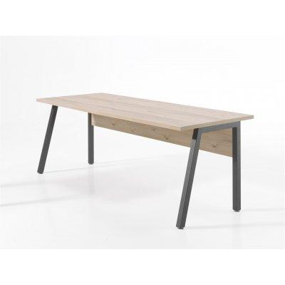 Bureau 150x80cm (zwart/den)