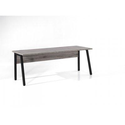 Bureau 200x80cm (sherman grijs)