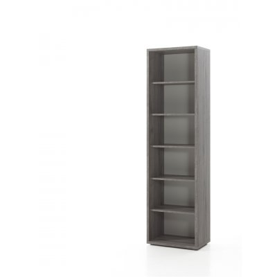 Hoge open kast (sherman grijs)