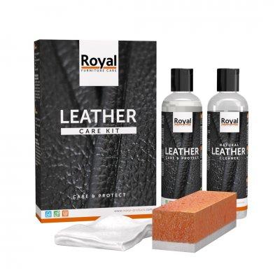 Leather kit care en protect 2x150ml onderhoud leder