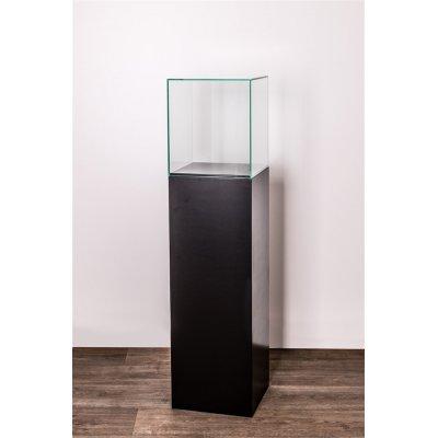 Cubo vitrine zwart