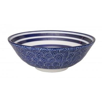 Soba bowl blue de nimes tokyo