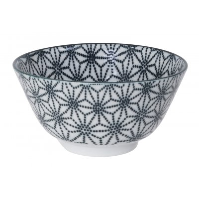 Nippon black rice bowl stare