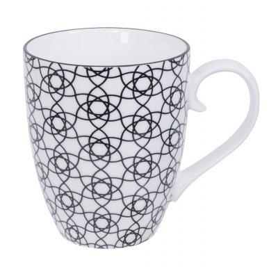 Nippon black mug stripe