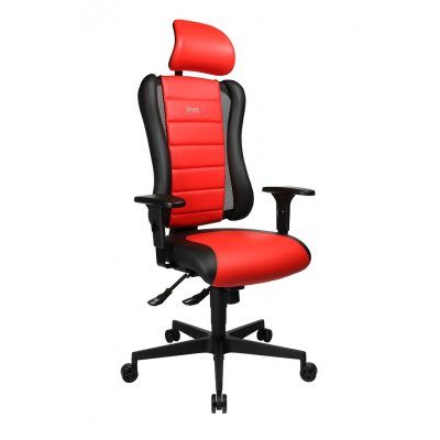 Sitness zwart/rood