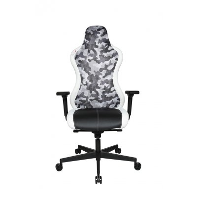 Bureaustoel zwart/wit