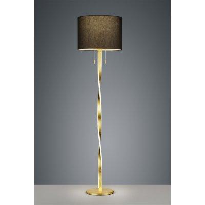 Staanlamp 2 lichtpunten goud led