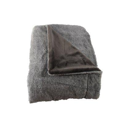 Plaid grijs (150x200)