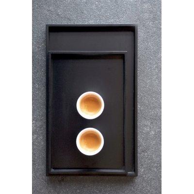 Low tray xlboom rechthoek cofee bean set van 2