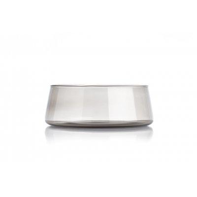 Host bowl smoke grey large